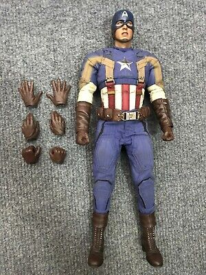 $ CDN317.40 • Buy 1/6 Hot Toys MMS240 Captain America Winter Soldier Golden Age Action Figure