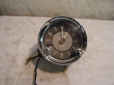 £15 • Buy Smiths Genuine Period 12v. Clock. 2 1/2  Dia. Excellent Appearance, Not Working.