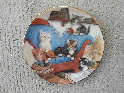 £4 • Buy Bradford Exchange Collectors Cat Plate Limited Edition