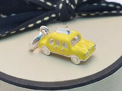 £66.99 • Buy Genuine Links Of London Yellow Taxi Cab Charm, New York, Silver