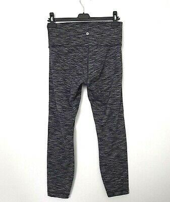 $ CDN48.39 • Buy Lululemon Wunder Under 7/8 Tight Luon Size 10 Wee Are From Space Black Slate