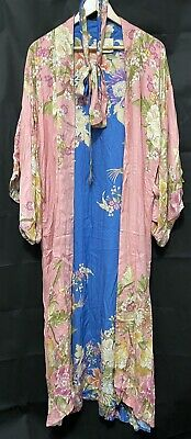 AU120 • Buy Spell Designs Blue Skies Reversible Kimono BNWT