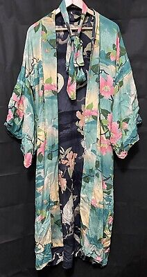 AU122.50 • Buy Spell Designs Nightingale Reversible Kimono BNWT