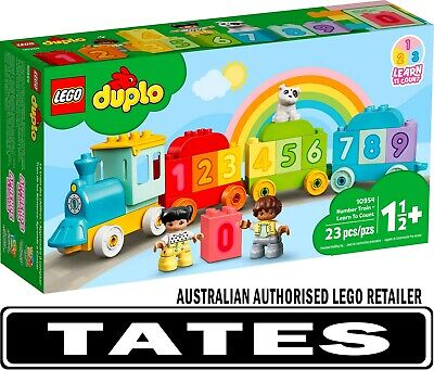 AU29.98 • Buy LEGO 10954 Number Train - Learn To Count - Duplo From Tates Toyworld
