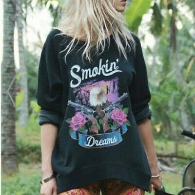 AU110 • Buy Spell Designs Smokin Dreams Jumper Size S BNWT