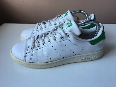 AU21.82 • Buy ADIDAS STAN SMITH Men's White Leather Casual Trainers Size 6