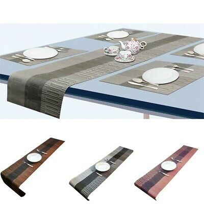 AU19.34 • Buy Table Runner Tablecloth Placemat Dining Cloth Wedding Party Banquet Table Decor