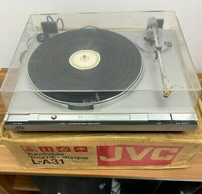 £149.99 • Buy Jvc L-a31 Auto Return Direct Drive Vintage Classic Turntable  Boxed