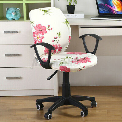 AU11.09 • Buy Office Computer Elastic Chair Cover Stretch Removable  Seat Slipcover Protector