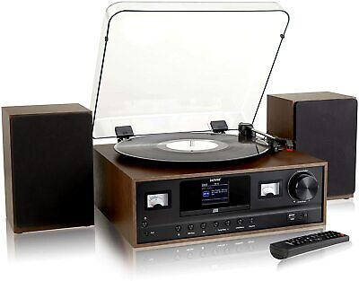 £119.99 • Buy Record Player Hi-Fi System 7-in-1 With 2.4-inch Colour Screen Denver MRD-105