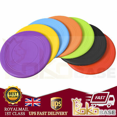 £2.88 • Buy Soft Rubber Summer Beach Frisbee Dog Pet Throwing Flying Disc Frisby Fetch Toy