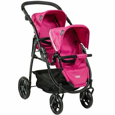 £33.86 • Buy Britax Pink Duo Twin Dolls Buggy Brand New In Box Great For Your Dolls