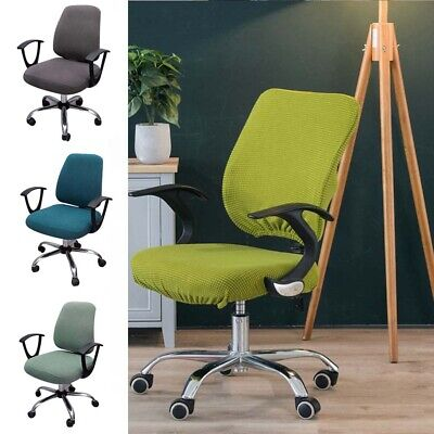 AU15 • Buy Thicken Elastic Office Computer Chair Cover Back Seat Cover Stretch Seat Cover
