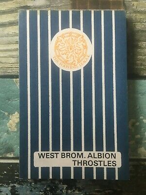 £4 • Buy West Brom Bromwich Albion THROSTLES The Football League Small Notebook