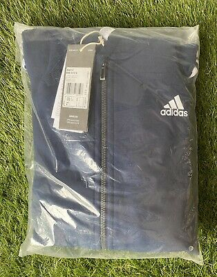 £25 • Buy BNWT Mens Adidas Track Top Hoodie With Full Length Zip Navy Small Sealed