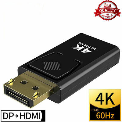 £3.99 • Buy 1080P Display Port DP Male To HDMI Female Adapter Converter Cable For PC HDTV UK