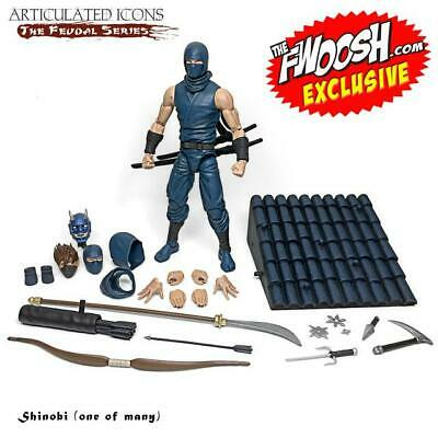 $ CDN121.39 • Buy Fwoosh Exclusive Articulated Icons Feudal Series Shinobi (One Of Many)