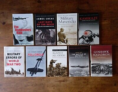 £12.60 • Buy Cassell Military Paperbacks Collection Book Bundle Dambusters Reich Goshawk Lot