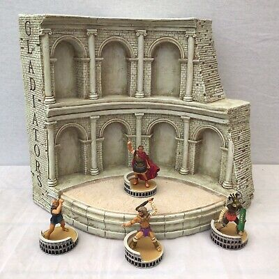 £49.95 • Buy Large Roman Gladiator Display Arena For Figures Or Toy Soldiers #241