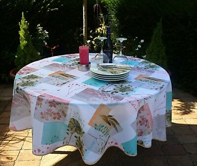 £21.14 • Buy Tablecloth Non-Iron Round 180 CM Farnmotive From France Provence Easy-Care