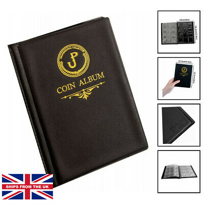 £7.50 • Buy Coin Album Coin Holder Coin Collection Book For Penny/Nickel/Dime/One Pound/2...