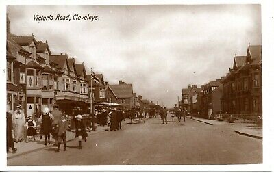 £2.49 • Buy Real Photo Postcard Of Victoria Road, Cleveleys, (near Blackpool), Lancashire