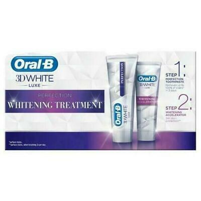 View Details Oral-B 3D White Luxe Perfection Teeth Whitening Treatment Toothpaste BBE 06/2020 • 5.99£