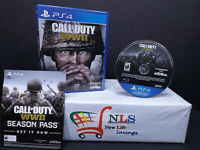 AU14.92 • Buy PS4 Call Of Duty WWII