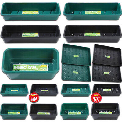 £4.99 • Buy Garland Seed & Garden Tray Hydroponics Greenhouse Various Types Colours & Sizes