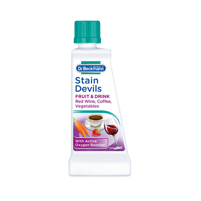 £3.95 • Buy STAIN DEVILS - Fruit & Drink - Red Wine Coffee Mould Berries Cola Jam Remover