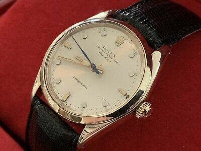 $ CDN6789.71 • Buy A Stunning And Scarce 9ct Solid Gold Vintage 1964 Gents Rolex Oyster Air-King