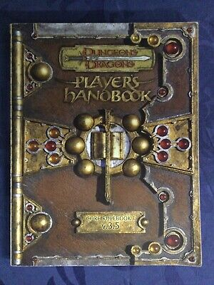 AU85 • Buy Dungeons & Dragons - Player's Handbook V.3.5 (Core Rulebook 1)  Softcover