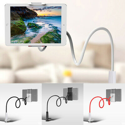 £7.39 • Buy 360° Flexible Arm Gooseneck Table Bed Clamp Stand Holder Mount For IPad Tablet