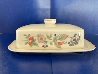 £12.50 • Buy Wedgwood Roseberry Lidded Butter Dish, Perfect Condition.