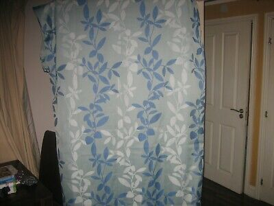 £25 • Buy Montgomery Duck  Egg Blue  Abstract Pattern Curtains   90 X  90 Ins