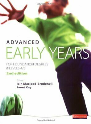 £5.99 • Buy Advanced Early Years: For Foundation Degree... By Walkup-Taylor, Vivie Paperback