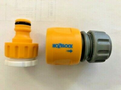 £5.99 • Buy Hozelock End Connector Screw Tap Connection Hosepipe Hose Fitting