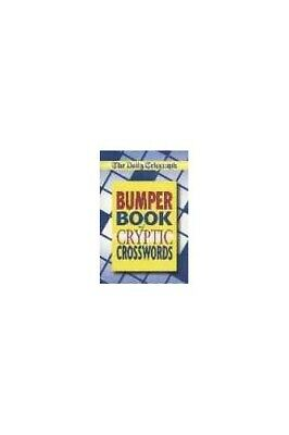 £6.49 • Buy  Daily Telegraph  Bumper Book Of Cryptic Crosswords By Daily Telegraph Book The