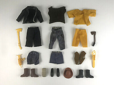 £28.95 • Buy Vintage BIG JIM Lot Of Accessories Clothing Boots Shoes Tools For Action Figures