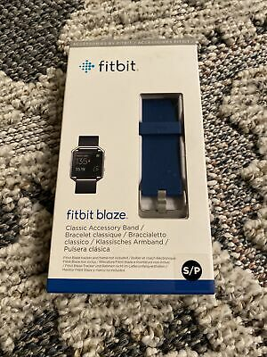 $ CDN15.09 • Buy NEW AUTHENTIC OEM Fitbit Blaze Wrist Watch Band Silicone Strap Blue Size Small
