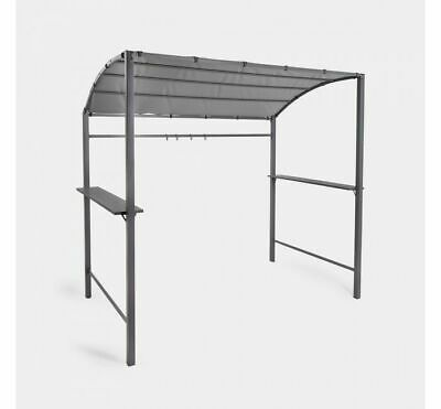 £127.99 • Buy Barbecue Canopy 2 Shelves Sturdy Steel Frame Cooking Accessories Bbq Gazebo