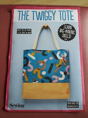 £3 • Buy Simply Sewing 'the Twiggy Tote' Brand New Sealed