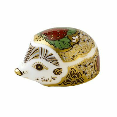 £54.95 • Buy Royal Crown Derby Strawberry Hedgehog Paperweight - New 1st Quality