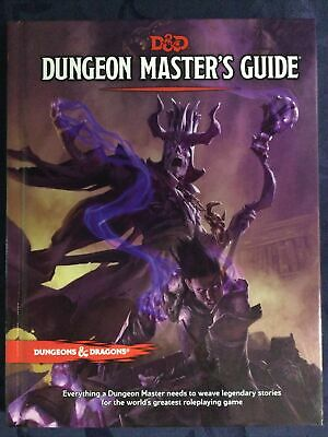 AU70 • Buy D&D Dungeon Master's Guide - Hard Cover 5th Edition Book Dungeons And Dragons