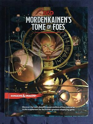 AU70 • Buy D&D Mordenkainen's Tome Of Foes - Hardcover 5th Edition Book Dungeons & Dragons