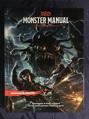 AU75 • Buy D&D Monster Manual - Hard Cover 5th Edition Book - Dungeons And Dragons