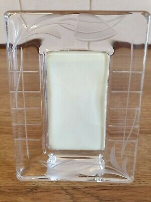 £15 • Buy Past Times (?) Art Deco/Rennie Mackintosh Style Glass Etched Picture Frame
