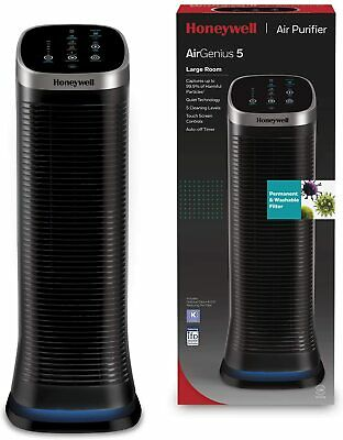 £329.99 • Buy Honeywell HFD323E2 Air Genius 5 Ifd Technology Air Purifier With Washable Filter