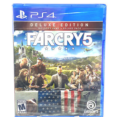 AU73.35 • Buy Far Cry 5 Deluxe Edition: Playstation 4 [Brand New] PS4
