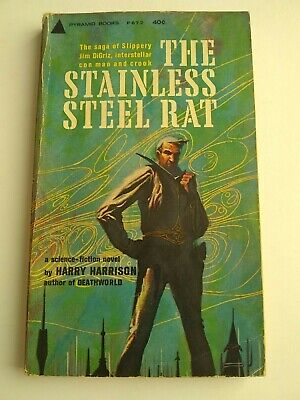 £8.99 • Buy The Stainless Steel Rat Harry Harrison Vintage Pyramid Paperback 1961